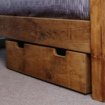Cube Plank Underbed Storage Drawer
