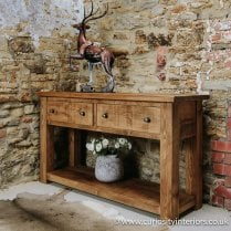 Haddon Plank Console Table