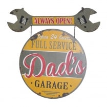 Dads Garage Swing Sign