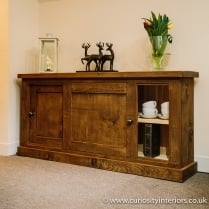 Devonshire Plank Sliding Door Sideboard