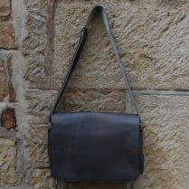 Daddy Greg Leather Shoulder Bag