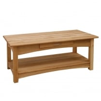 Druid Oak Coffee Table with Drawer