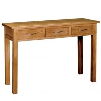 Druid Oak Dressing Table / Desk