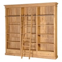Druid Oak Library Bookcase