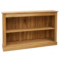 Druid Oak Low Bookcase