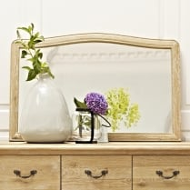 Elegance Oak Wall Mirror