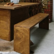 Idaho Plank Dining Bench
