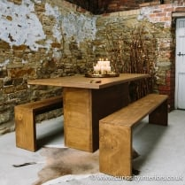 Idaho Plank Dining Table