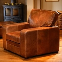 Jersey Leather Armchair
