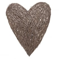 Large Rattan Heart