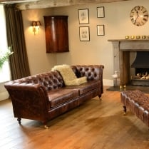 Leather Harris Sofa Range