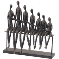 Bench Family Sculpture