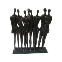 Group of Spectators Sculpture