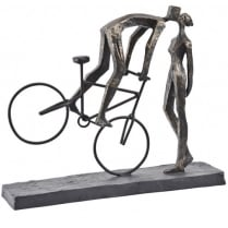 Kissing On A Bike Sculpture
