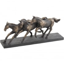 Running Horses Sculpture