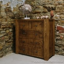 Lumber Plank Chest of Drawers