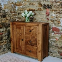 Lumber Plank Hall Cupboard