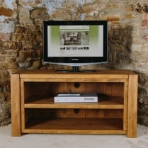 Lumber Plank Open TV Unit