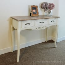 Paris 3 Drawer Console Table
