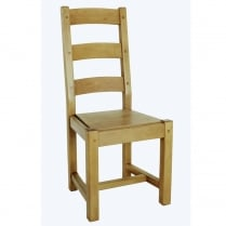 Parisienne Solid Seat Dining Chair