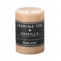 Jasmine Tea and Vanilla Pillar Candle