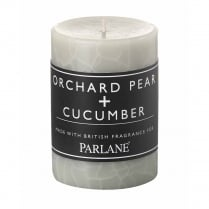 Orchard Pear and Cucumber Pillar Candle
