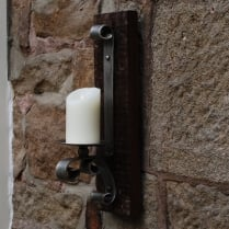 Reclaimed Forged Wall Sconce