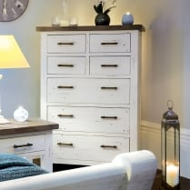 Ruan Chalk Tall Chest Of Drawers