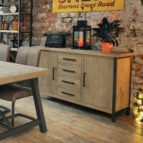 Ruan Industrial Large Sideboard