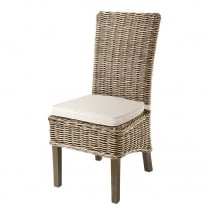 Ruan Rattan Dining Chair