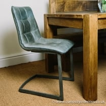 Titan Leather Dining Chair