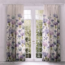 Artscene Eilean Donan Thistle Pencil Pleat Curtain Panels
