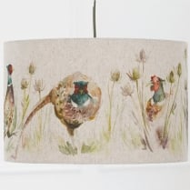 Bowmont Pheasant Lamp Shade