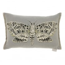 Cocoon Moth Linen Print Cushion