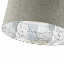 Voyage Maison Contra Explorer Antique Varanasi Travertine Lamp Shade
