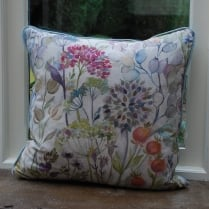 Country Garden Linen Print Cushion