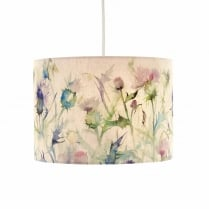 Damson Bristle Lamp Shade