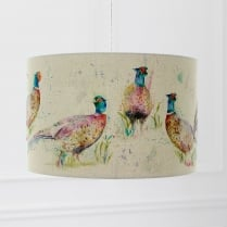 Dashing Pheasants Lamp Shade
