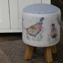 Dashing Pheasants Monty Stool