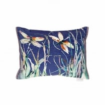Dragonfly Velvet Cushion