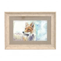 Foxy Large Framed Artwork