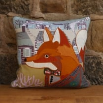 Francis Fox Patchwork Cushion