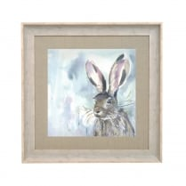 Harriet Hare Square Framed Artwork