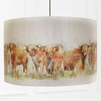 Highland Cattle Lamp Shade