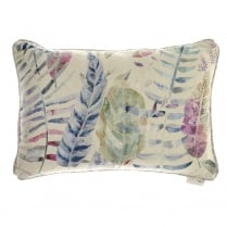Kenton Loganberry Linen Print Cushion