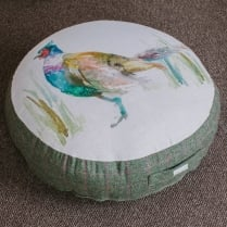 Large Mr Pheasant Floor Cushion