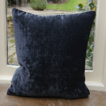 Mimosa Charcoal Chenille Cushion