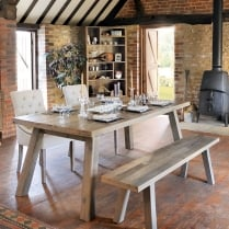 Woodland Dining Package with Bench