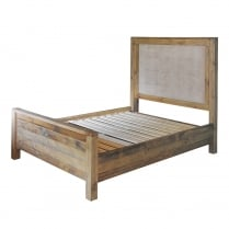 Woodland King Size Bed with Quilted Headboard