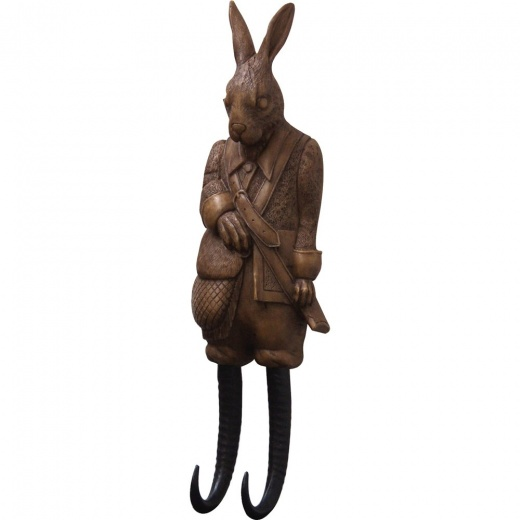 Rabbit Coat Hook | Novelty Coat Hook | Key Hooks